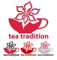 tea tradition vector image