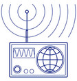 broadcasting concept vector image