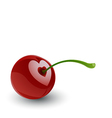 Cherry love vector | Price: 1 Credit (USD $1)
