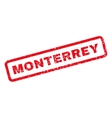 Monterrey Rubber Stamp vector image vector image