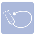 Objects collection Stethoscope vector image