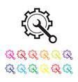 online diagnosis icon vector image vector image