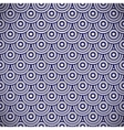 Pattern with circles vector image vector image