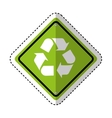 recycle symbol sign icon vector image vector image