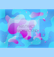abstract blue and pink vibrant background vector image vector image