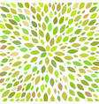 abstract colored natural leaves background vector image vector image