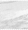 abstract halftone background texture black dots vector image vector image