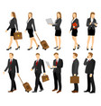 business people group vector image