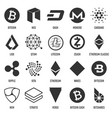 creative of popular crypto vector image