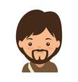 cute saint joseph character vector image