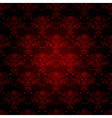 decorative red seamless wallpaper vector image vector image