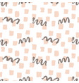 fashion brushes bold seamless pattern vector image vector image