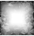 Grey Polygonal Background vector image vector image