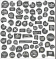 modern badges and labels collection vector image vector image