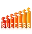 Money Success Concept vector image vector image