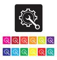 online diagnosis icon vector image