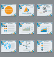 professional business presentation vector image