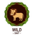wild spirit animals vector image vector image