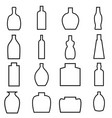 Bottle all 1 vector image vector image