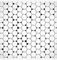 honeycomb pattern background vector image vector image