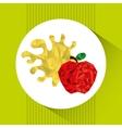 juice fruit design vector image