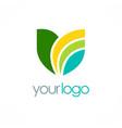 lotus spa logo vector image vector image