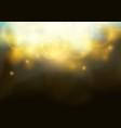 magical bokeh shine christmas light elegant glow vector image vector image