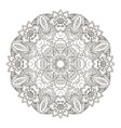 mandala oriental pattern traditional round vector image vector image