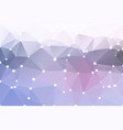 pink grey geometric background with lights vector image vector image