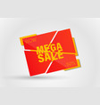 big sale special offer vector image vector image