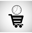 cart shopping design vector image