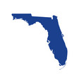 florida state map design vector image vector image