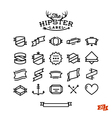 hipster label stuff part one vector image vector image