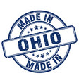made in ohio vector image vector image