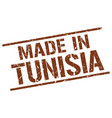 made in tunisia stamp vector image vector image