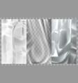 paper plastic film metal foil texture background vector image vector image