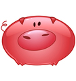 pig cartoon icon vector image vector image