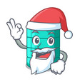 santa cartoon water tank for in agriculture vector image vector image