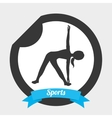sport lifestyle vector image vector image