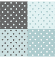Stars seamless pattern set vector image vector image