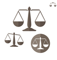 Scale Set vector image