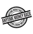 anytime money back rubber stamp