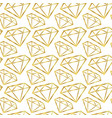 diamonds seamless pattern girly background vector image