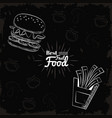 fact food icons vector image vector image