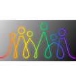 inclusion and diversity infographic banner set vector image