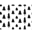 seamless christmas pattern with snowflakes and vector image vector image