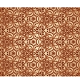 Vintage beige abstract ornate flowers pattern vector | Price: 1 Credit (USD $1)