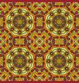 mandala oriental pattern traditional seamless vector image