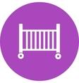 Baby Cot vector image