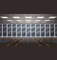 data center room hosting server computer vector image vector image